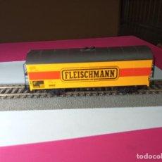 Trenes Escala: VAGÓN CERRADO ESCALA HO DE FLEISCHMANN. Lote 288082943