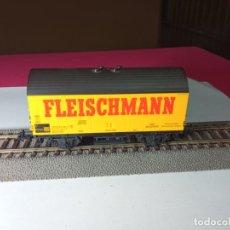 Trenes Escala: VAGÓN CERRADO ESCALA HO DE FLEISCHMANN. Lote 288082978