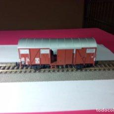 Trenes Escala: VAGÓN CERRADO ESCALA HO DE FLEISCHMANN. Lote 288083583