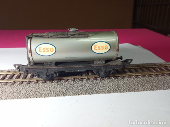 Trenes Escala: VAGÓN CISTERNA ESCALA HO DE FLEISCHMANN - Foto 2 - 288084393