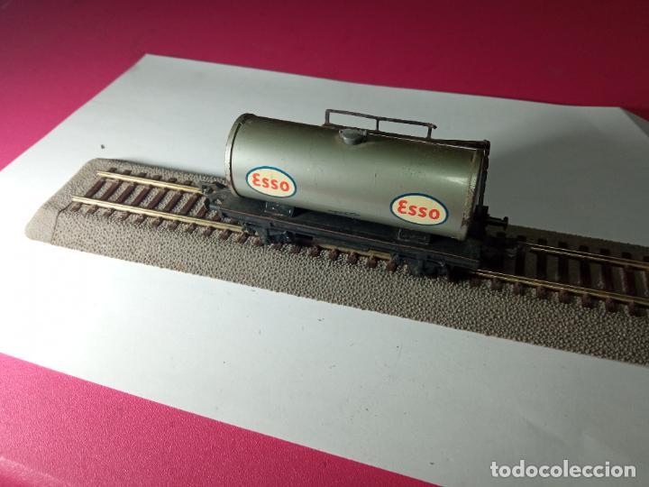 Trenes Escala: VAGÓN CISTERNA ESCALA HO DE FLEISCHMANN - Foto 9 - 288084393