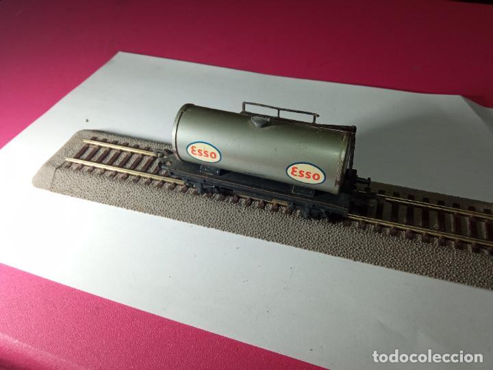 Trenes Escala: VAGÓN CISTERNA ESCALA HO DE FLEISCHMANN - Foto 10 - 288084393