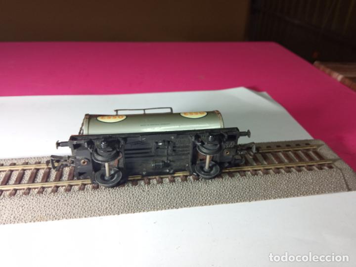 Trenes Escala: VAGÓN CISTERNA ESCALA HO DE FLEISCHMANN - Foto 12 - 288084393