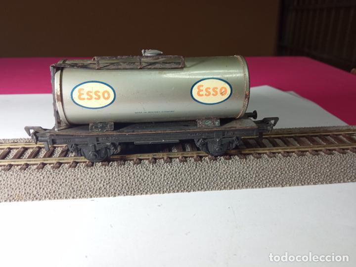 Trenes Escala: VAGÓN CISTERNA ESCALA HO DE FLEISCHMANN - Foto 13 - 288084393