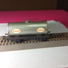 Trenes Escala: VAGÓN CISTERNA ESCALA HO DE FLEISCHMANN. Lote 288084393