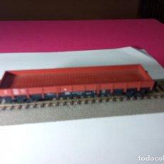 Trenes Escala: VAGÓN BORDE BAJO ESCALA HO DE FLEISCHMANN. Lote 288086103
