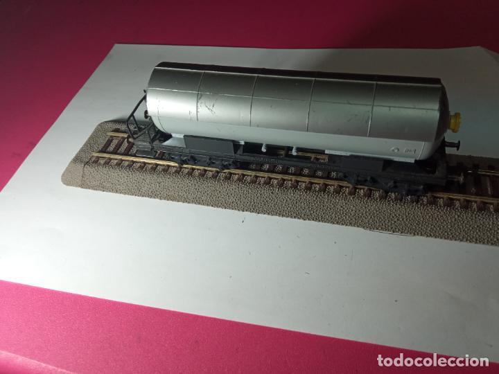 Trenes Escala: VAGÓN CISTERNA ESCALA HO DE FLEISCHMANN - Foto 2 - 288086258