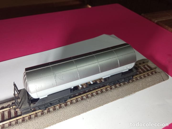 Trenes Escala: VAGÓN CISTERNA ESCALA HO DE FLEISCHMANN - Foto 3 - 288086258