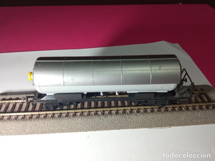 Trenes Escala: VAGÓN CISTERNA ESCALA HO DE FLEISCHMANN - Foto 4 - 288086258