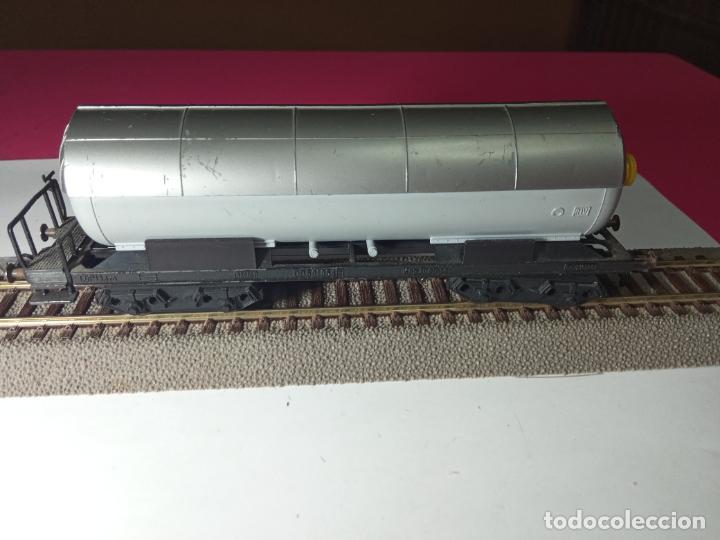 Trenes Escala: VAGÓN CISTERNA ESCALA HO DE FLEISCHMANN - Foto 7 - 288086258