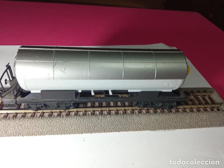 Trenes Escala: VAGÓN CISTERNA ESCALA HO DE FLEISCHMANN - Foto 9 - 288086258