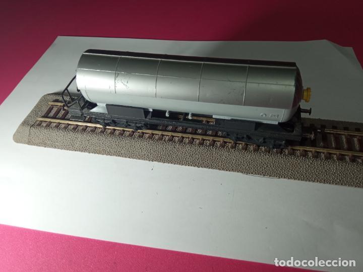 Trenes Escala: VAGÓN CISTERNA ESCALA HO DE FLEISCHMANN - Foto 10 - 288086258