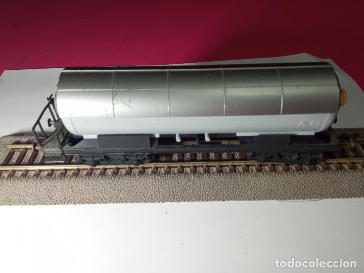 Trenes Escala: VAGÓN CISTERNA ESCALA HO DE FLEISCHMANN - Foto 11 - 288086258