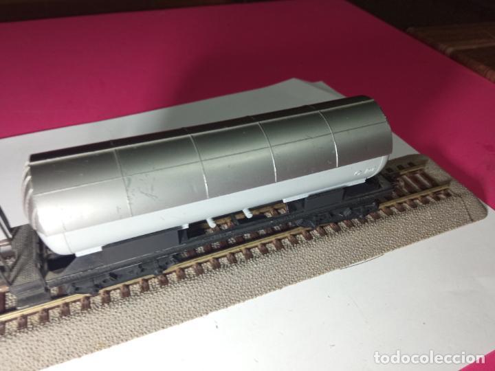 Trenes Escala: VAGÓN CISTERNA ESCALA HO DE FLEISCHMANN - Foto 12 - 288086258