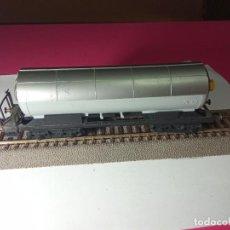 Trenes Escala: VAGÓN CISTERNA ESCALA HO DE FLEISCHMANN. Lote 288086258