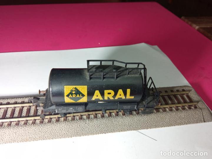 Trenes Escala: VAGÓN CISTERNA ARAL ESCALA HO DE FLEISCHMANN - Foto 6 - 288086343