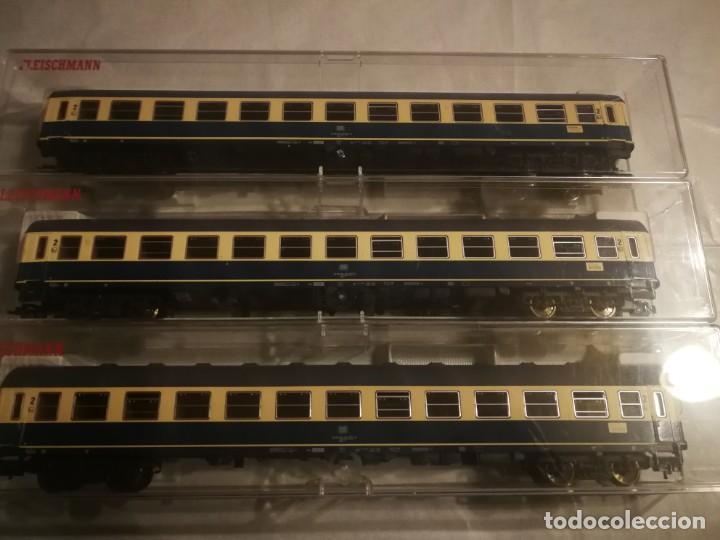 FLEISCHMANN 3 VAGONES DB 2 CLASE (Juguetes - Trenes Escala H0 - Fleischmann H0)