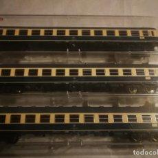 Trenes Escala: FLEISCHMANN 3 VAGONES DB 2 CLASE. Lote 288315753