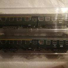 Trenes Escala: FLEISCHMANN 2 VAGONES DB 2 1 CLASR. Lote 288316193