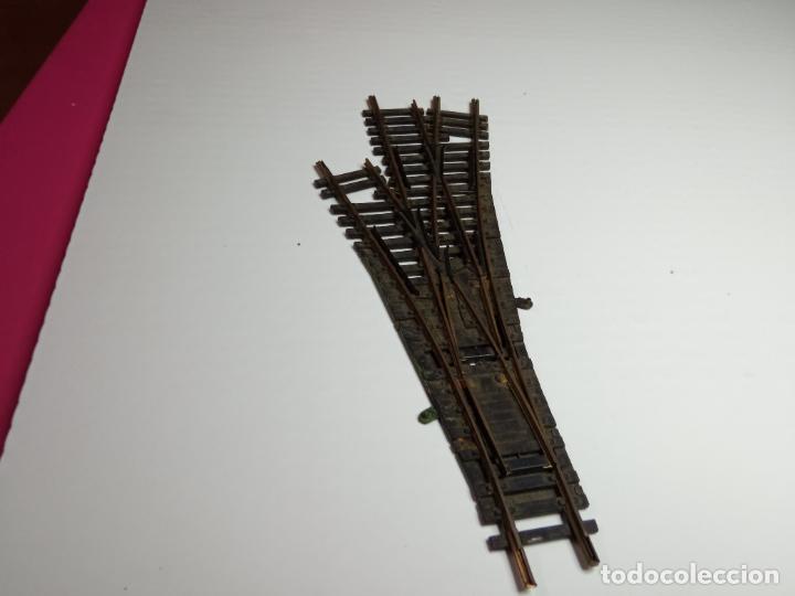 DESVIO TRIPLE ESCALA HO DE FLEISCHMANN (Juguetes - Trenes Escala H0 - Fleischmann H0)