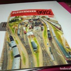 Trenes Escala: LIBRO DE PLANOS ESCALA HO DE FLEISCHMANN. Lote 288581818