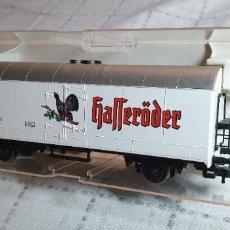 """Trenes Escala: FLEISHMANN VAGÓN CERVECERO """"HAFFERÖDER"""" DE LA DB. REF. 5326K. NUEV0 A ESTRENAR EN SU CAJA. Lote 288701523"""