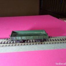 Trenes Escala: VAGÓN BORDE BAJO ESCALA HO DE FLEISCHMANN. Lote 290862513