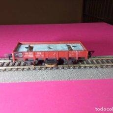 Trenes Escala: VAGÓN BORDE BAJO ESCALA HO DE FLEISCHMANN. Lote 290862583