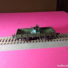 Trenes Escala: VAGÓN BORDE BAJO ESCALA HO DE FLEISCHMANN. Lote 290863353