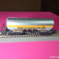 Trenes Escala: VAGÓN CISTERNA ESCALA HO DE FLEISCHMANN. Lote 290904328
