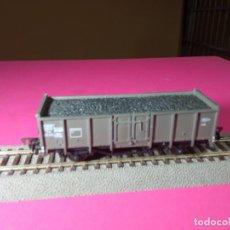 Trenes Escala: VAGÓN BORDE ALTO ESCALA HO DE FLEISCHMANN. Lote 290904843