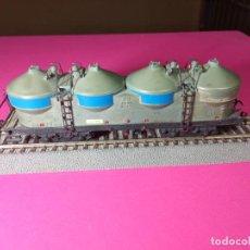 Trenes Escala: VAGÓN SILO ESCALA HO DE FLEISCHMANN. Lote 290913478