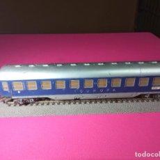 Trenes Escala: VAGÓN PASAJEROS DE LA DB ESCALA HO DE FLEISCHMANN. Lote 291065003