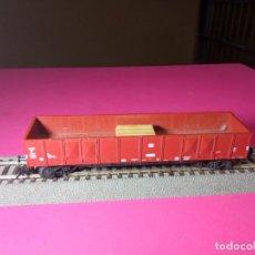 Trenes Escala: VAGÓN BORDE ALTO ESCALA HO DE FLEISCHMANN. Lote 291065058