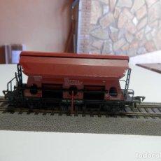 Trenes Escala: VAGÓN TOLVA ESCALA HO DE FLEISCHMANN. Lote 291167663