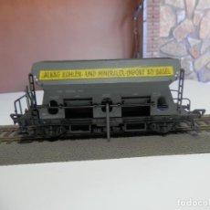 Trenes Escala: VAGÓN TOLVA ESCALA HO DE FLEISCHMANN. Lote 291167763