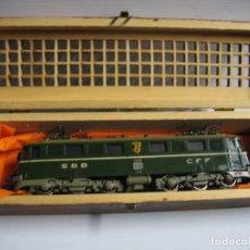 Trenes Escala: LOCOMOTORA MAQUINA FLESCHMANN SBB ANTIGUA. Lote 295968988