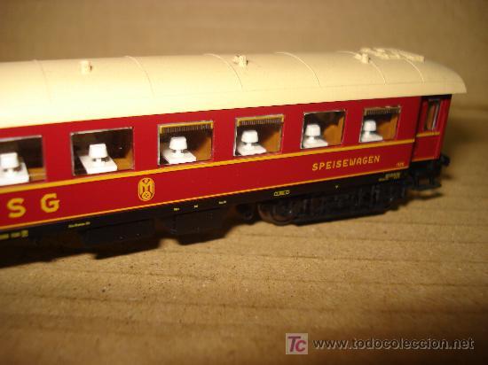 Trenes Escala: COCHE RESTAURANTE FLEISCHMANN de la DSG EN ESCALA N. ROCO. - Foto 2 - 21050405