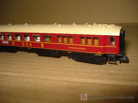 Trenes Escala: COCHE RESTAURANTE FLEISCHMANN de la DSG EN ESCALA N. ROCO. - Foto 3 - 21050405