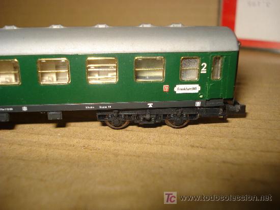 Trenes Escala: COCHE CAMA 2ª CLASE FLEISCHMANN de la DB EN ESCALA N. . - Foto 2 - 24145922