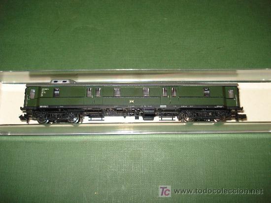 Trenes Escala: FLEISCHMANN. FURGON EQUIPAJES TREN RAPIDO CON CABINA ACRISTALADA DB EN *N*.NO ROCO. - Foto 2 - 20202442