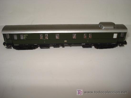 Trenes Escala: FLEISCHMANN. FURGON EQUIPAJES TREN RAPIDO CON CABINA ACRISTALADA DB EN *N*.NO ROCO. - Foto 4 - 20202442