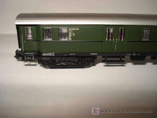 Trenes Escala: FLEISCHMANN. FURGON EQUIPAJES TREN RAPIDO CON CABINA ACRISTALADA DB EN *N*.NO ROCO. - Foto 5 - 20202442
