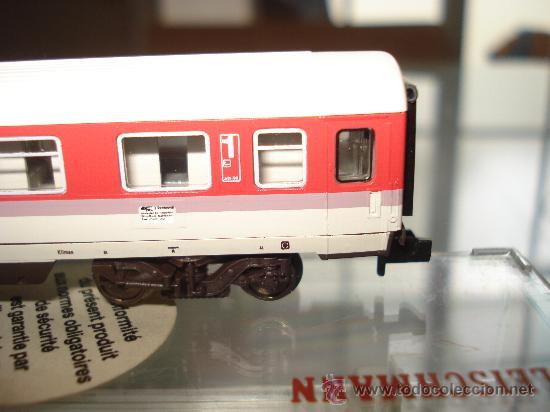 Trenes Escala: Coche viajeros 1ª Clase Intercity Eurocity de la DB Ref. 8181 de FLEISCHMANN en *N* . - Foto 5 - 24770325