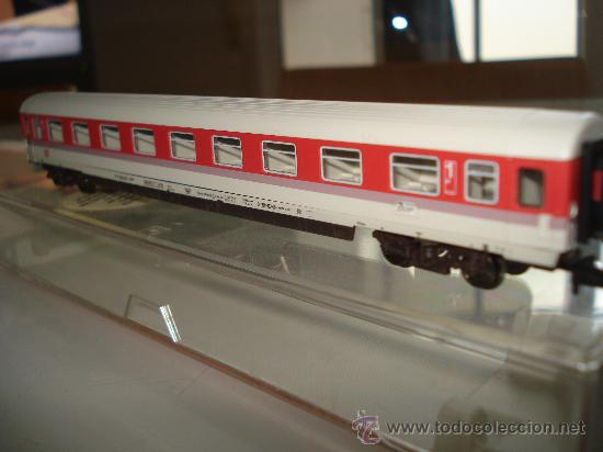 Trenes Escala: Coche viajeros 1ª Clase Intercity Eurocity de la DB Ref. 8181 de FLEISCHMANN en *N* . - Foto 6 - 24770325