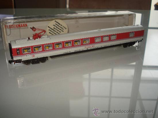 Trenes Escala: Coche Restaurante Intercity Eurocity de la DB Ref. 8182 de FLEISCHMANN en *N* . - Foto 6 - 27582495