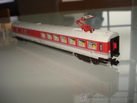 Trenes Escala: Coche Restaurante Intercity Eurocity de la DB Ref. 8182 de FLEISCHMANN en *N* . - Foto 5 - 27582495