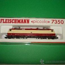 Trenes Escala: LOCOMOTORA ELÉCTRICA TIPO 120 DE LA DB REF. 7350 EN ESCALA *N* DE FLEISCHMANN. Lote 32423752
