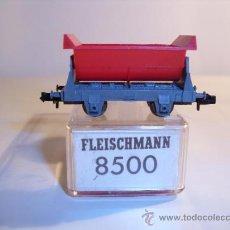 Trenes Escala: FLEISCHMANN 8500 - VAGÓN TOLVA ROJO ESCN. Lote 34409811