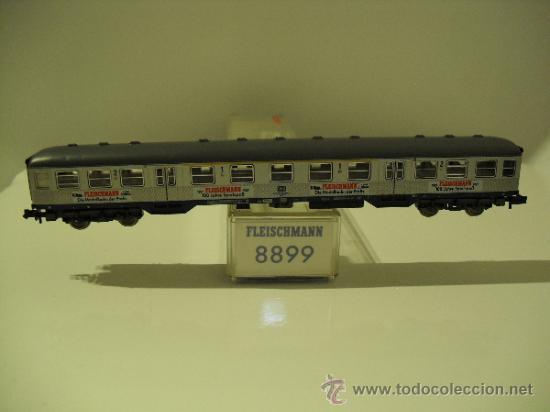 FLEISCHMANN 8899 SILBERLING 1-2 KL MODELO DB 100 AÑOS FLEISCHMANN ESPECIAL-ESC N . (Juguetes - Trenes a Escala N - Fleischmann N)